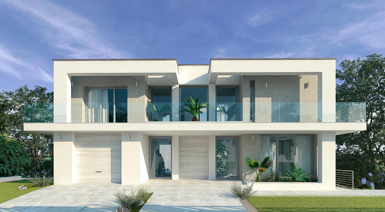 Villa moderna con piscina for Design ville moderne