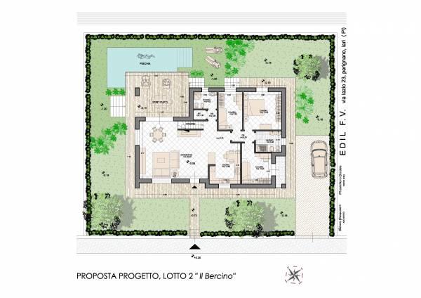 planimetria casa moderna villetta unifamiliare moderna